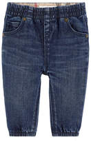 Burberry Girl slim fit jeans