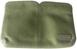 Chloé Green Leather Clutch bags