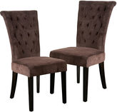 Asstd National Brand Torrington Set of 2 Tufted Dining Chairs