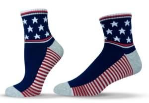 Americana Unisox Unisex Patriotic Quarter Socks