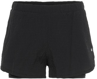 Lanston Sport Santi Pocket seersucker shorts