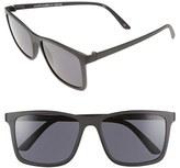 Le Specs Women's 'Master Tamers' 56Mm Sunglasses - Coal Tortoise