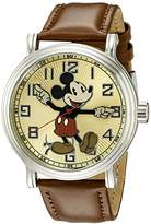 Disney Men's W002419 Mickey Mouse Analog Display Analog Quartz Watch