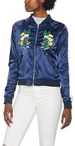 Romeo & Juliet Couture Women's Rj41138 Bomber Jacket
