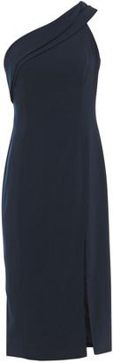 Jay Godfrey One-shoulder Draped Stretch-crepe Dress