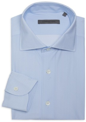 Corneliani Houndstooth Dress Shirt