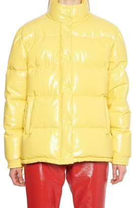 Alberta Ferretti Padded Button-Up Jacket