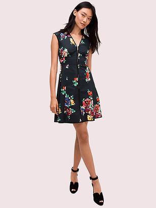 Kate Spade Rare Roses Poplin Dress