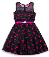 Betsey Johnson Girls 7-16 Sleeveless Dress