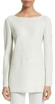 St. John Women's Sparkle Engineered Rib Sweater