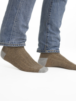 White + Warren Mens Cashmere Rib Socks