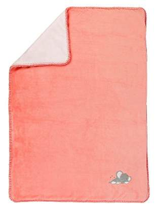 Camilla And Marc Nattou 424516 Knitted Blanket 75 x 100 cm, Pink