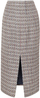 Brock Collection Metallic Tweed Skirt