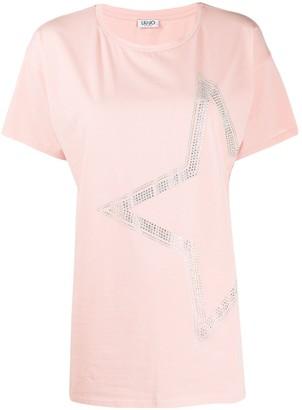Liu Jo loose fit star print T-shirt