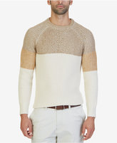 Nautica Men's Multi-Textured Colorblocked Sweater