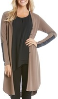 Karen Kane Elbow Patch Duster Cardigan