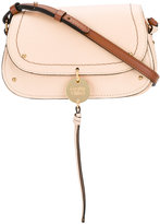 See by Chloe hanging tassel bag - women - Cotton/Calf Leather - One Size