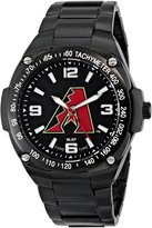 Game Time Men's MLB-GLA-ARI Gladiator Triple Black Analog Display Japanese Quartz Black Watch