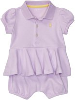 Ralph Lauren Girls Peplum Polo Shortall