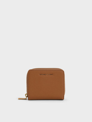 Charles & Keith Small Zip-Around Wallet