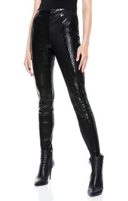 Alice + Olivia Maddox Leather Legging