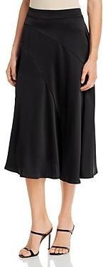 Vero Moda Gabbi Seamed-Front Slip Skirt