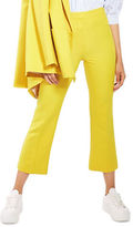 Topshop Crop Kick Flared Trousers