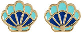 Ariella Collection Seashell Earrings