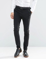 Selected Homme Super Skinny Suit Trousers With Stretch