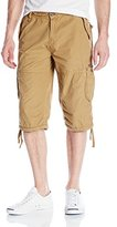 Buffalo David Bitton Men's Hibam Micro Canvas Longer Short