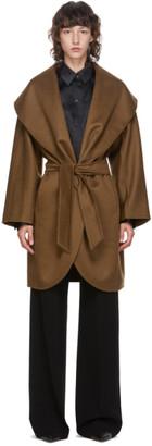 Max Mara Brown Cashmere Galles Coat