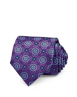 Canali Medallion Silk Classic Necktie