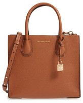 MICHAEL Michael Kors 'Medium Mercer' Leather Tote - Brown