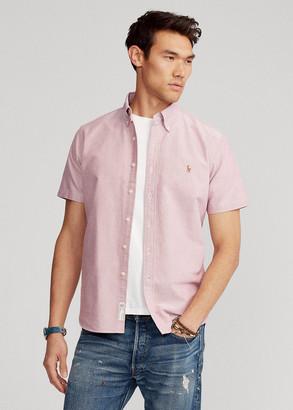 Ralph Lauren Oxford Short-Sleeve Shirt