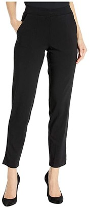 Hue Temp Tech Trouser Leggings (Black) Women's Casual Pants