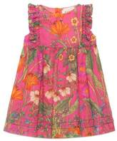 Gucci Baby New Flora Daisy print cotton dress