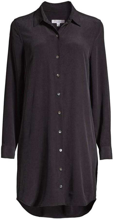 Equipment Essential Silk Shirtdress