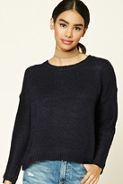 Forever 21 FOREVER 21+ Boxy Ribbed Knit Sweater