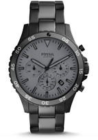 Fossil Crewmaster Sport Chronograph Black Smoke Stainless Steel Watch