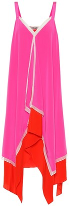 Diane von Furstenberg Wren silk-crepe de chine dress