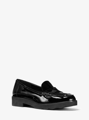 MICHAEL Michael Kors Alberta Patent Leather Kiltie Loafer