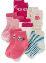 Old Navy Crew Socks 6-Pack for Toddler & Baby