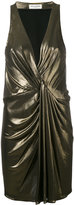 Saint Laurent metallic dress