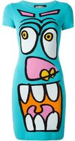 Jeremy Scott cartoon face knit dress - women - Polyamide/Rayon - 42