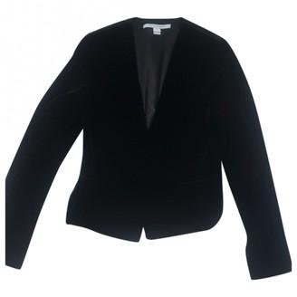 Diane von Furstenberg Black Velvet Jackets