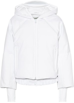 Fendi Cropped hooded jacket