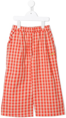 Tiny Cottons Two-Tone Check Trousers
