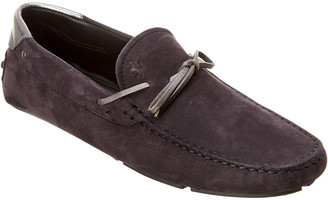 Tod's TodS X Ferrari Leather Moccasin