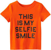 Joe Fresh Baby Boys' Crew Neck Tee, Orange (Size 6-12)