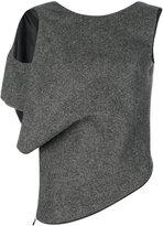 Maison Margiela single sleeved knitted top